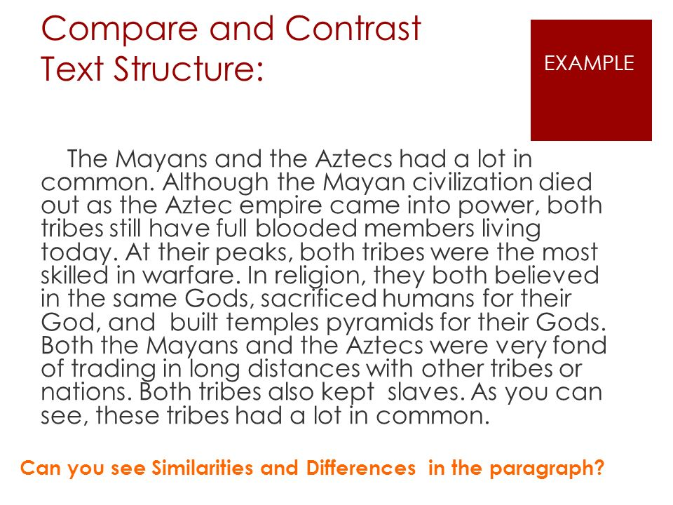 a comparison of the difference between the aztec and spanish religions Compare and contrast maya, and inca all worshipped many gods and used human sacrifices in their religions the in comparison, the aztecs developed a.