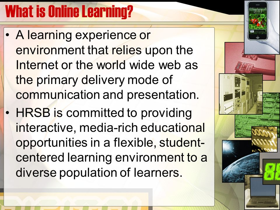 What is Online Learning.