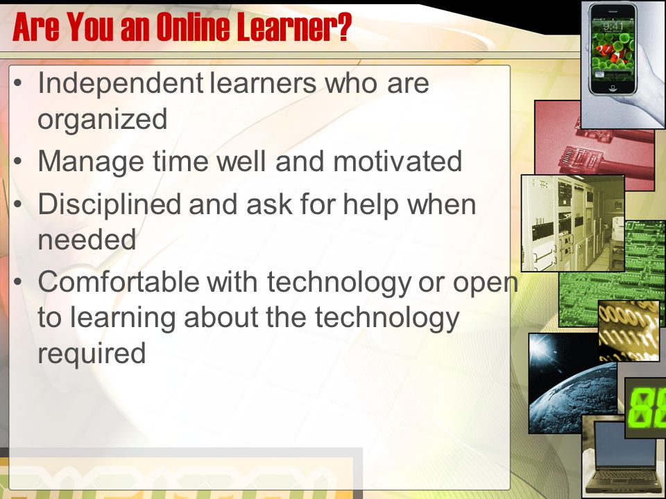 Are You an Online Learner.