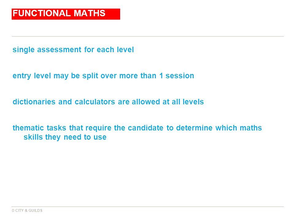 City And Guilds Maths Level 2 Worksheets useful links skills – Functional Maths Worksheets