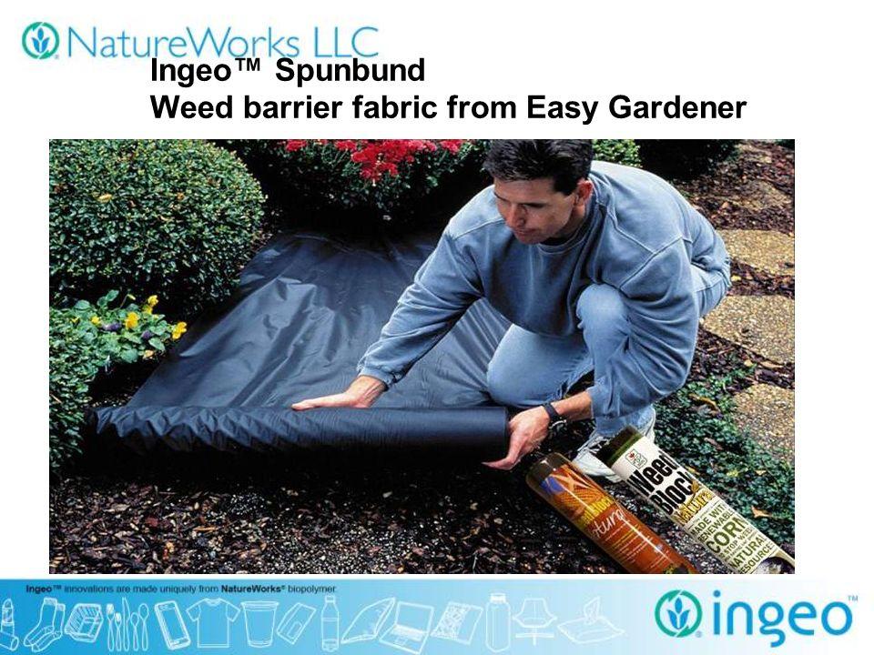 27 Ingeo™ Spunbund Weed Barrier Fabric From Easy Gardener