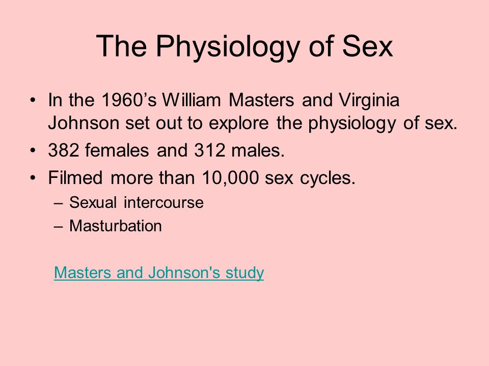 sexual motivation