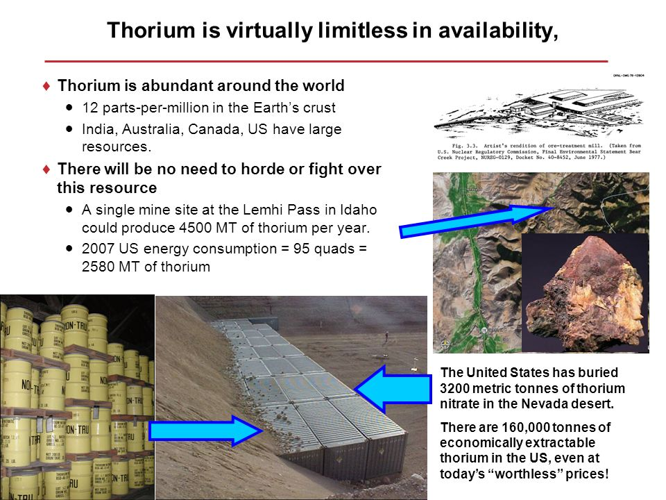 Thorium based nuclear power the road to green sustainable nuclear 45 thorium publicscrutiny