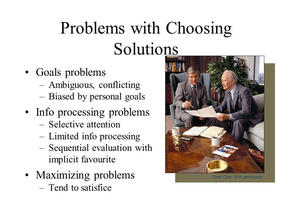 Rational problem solving