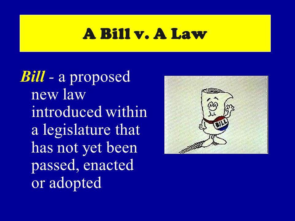 A Bill v.