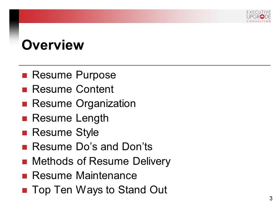 resume style 2015