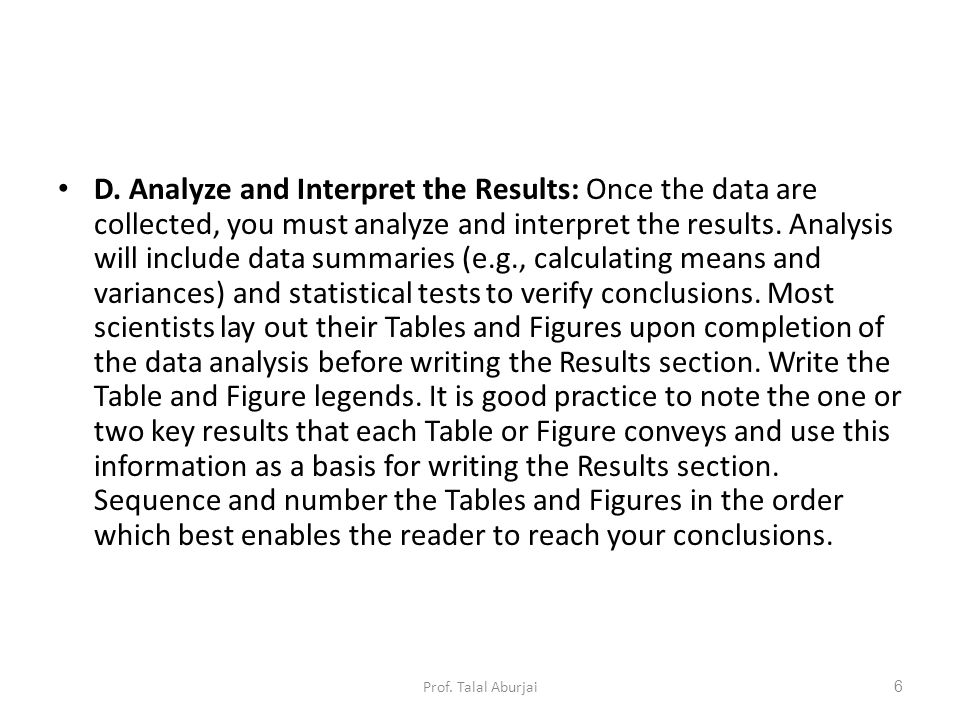 How to analyze a research paper