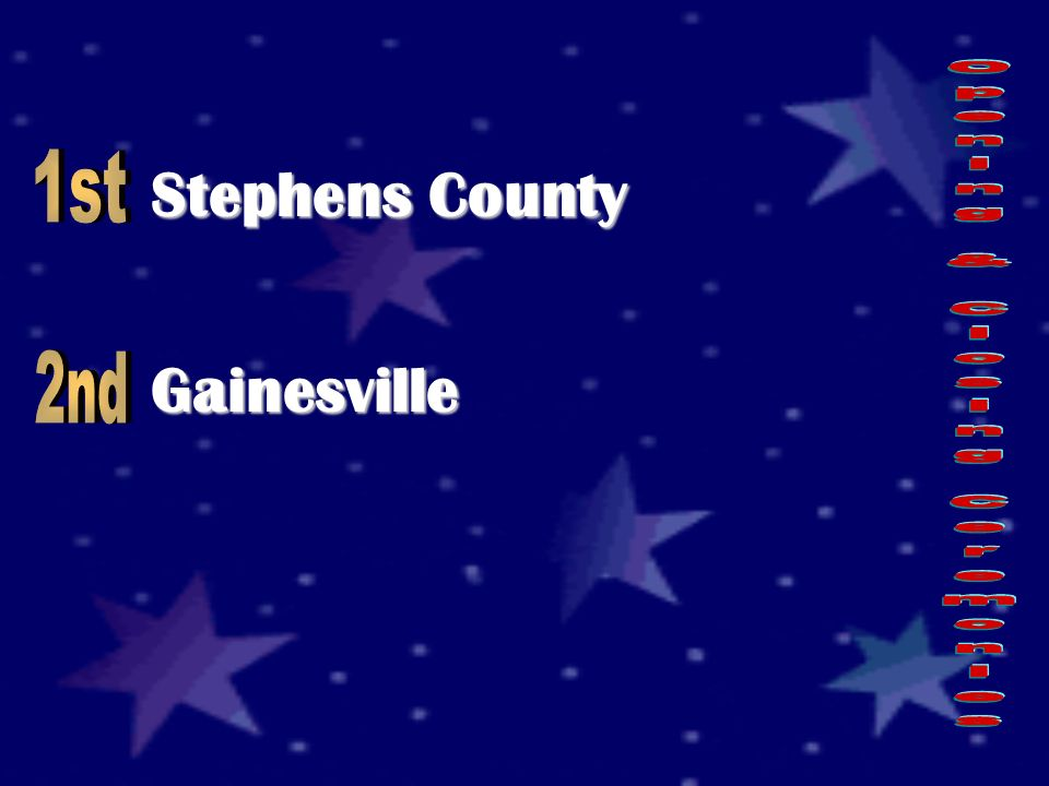 Stephens County Gainesville