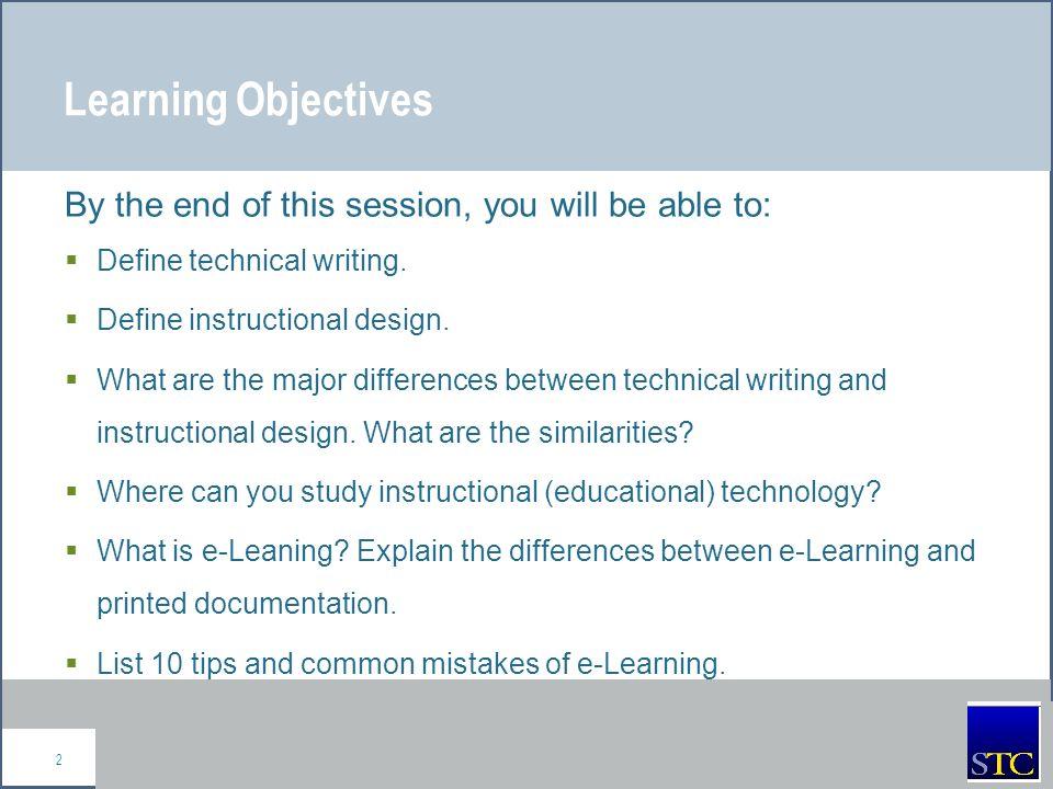 Define technical writing