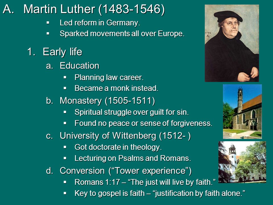 martin luther essay questions