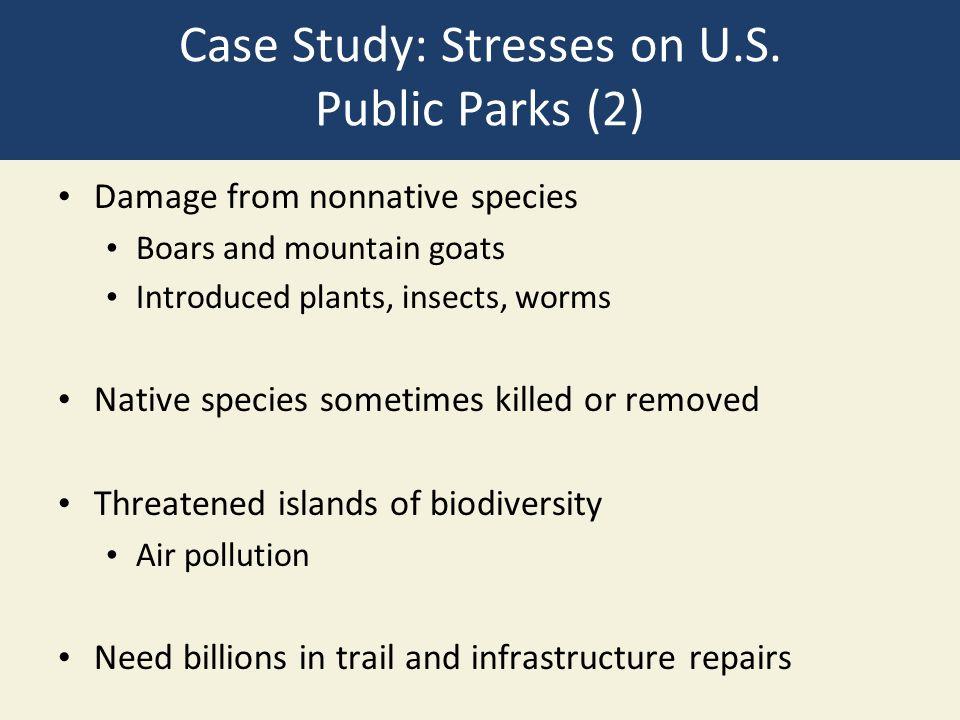 Case Study: Stresses on U.S.