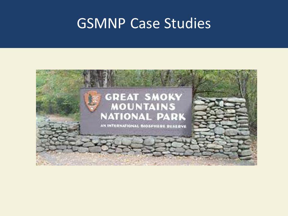 GSMNP Case Studies
