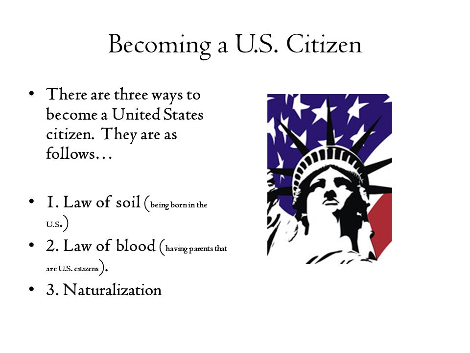 Importance of citizenship to being an American?