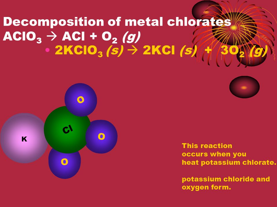Decomposition of metal hydroxides AOH  AO + CO 2 (g) Ca(OH) 2 (s)  CaO (s) + H 2 O (g) H Ca O This reaction occurs when you heat calcium hydroxide calcium oxide and water form.