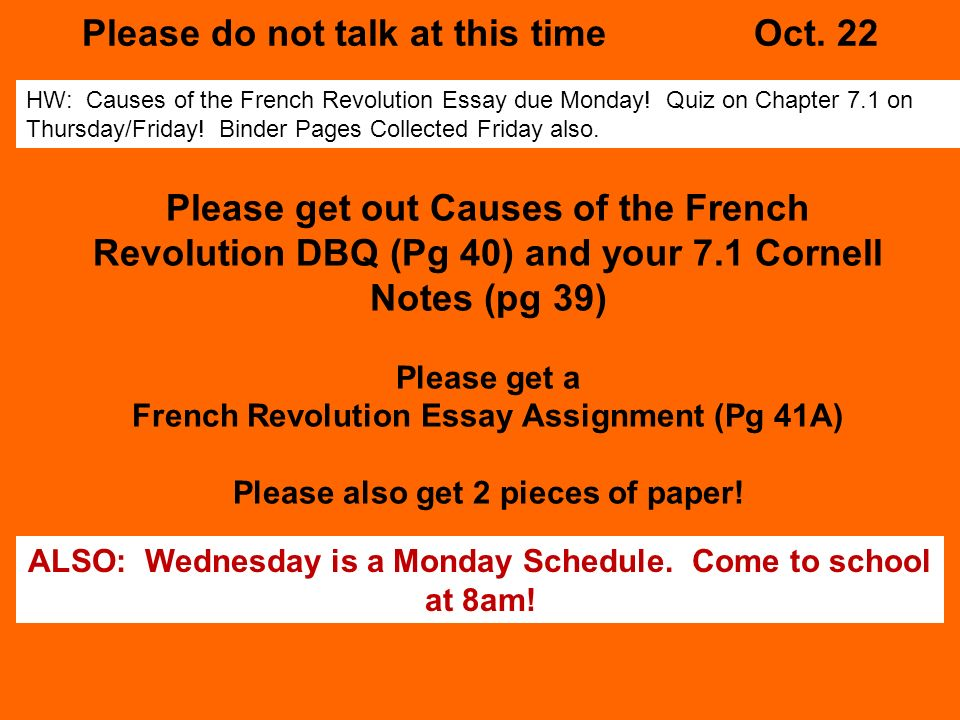 effects of the french revolution essay