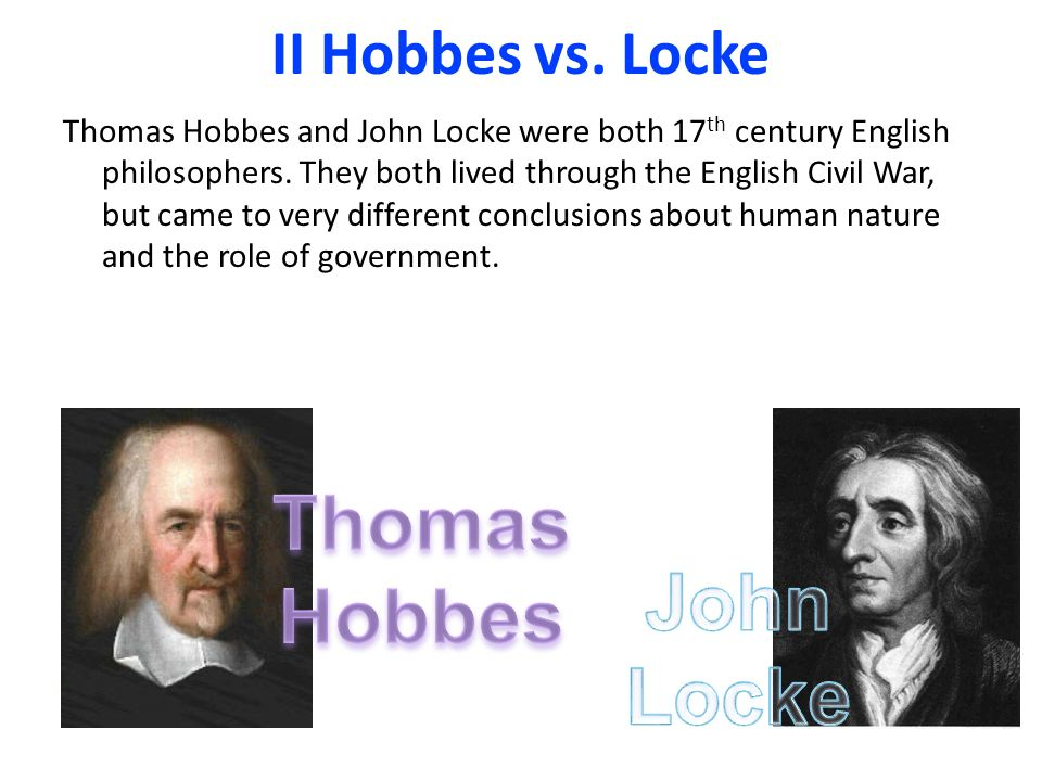 hobbes hume and human nature