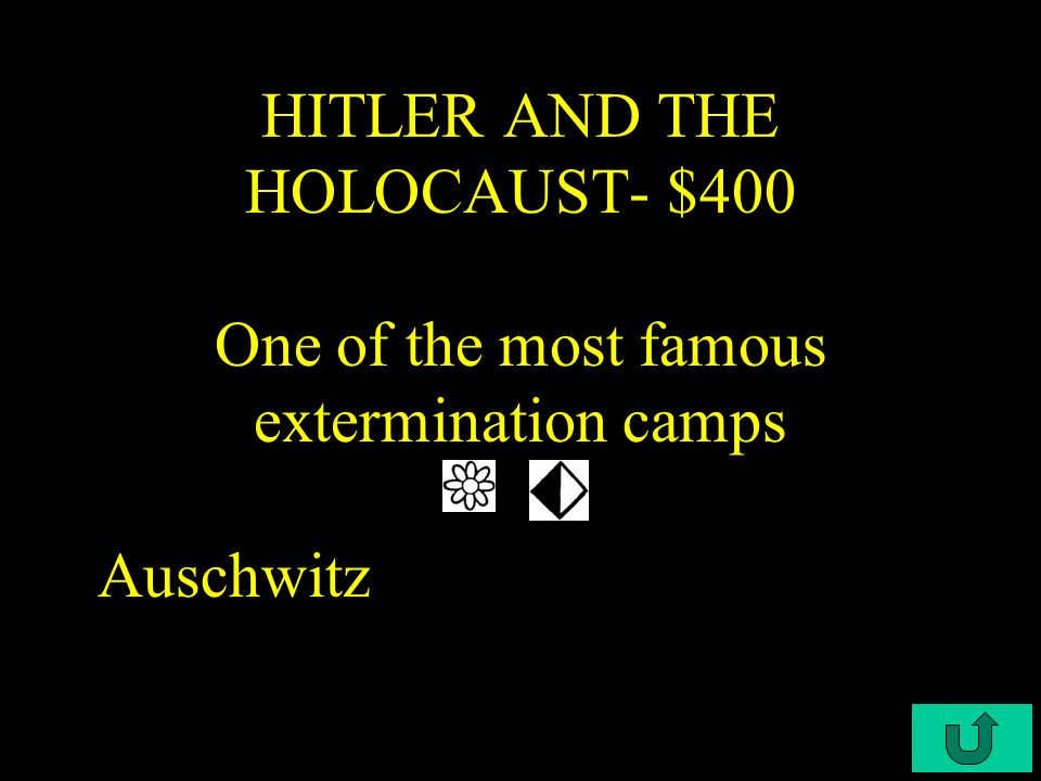 C3-$300 HITLER AND THE HOLOCAUST- $300 The trials in which Nazi leaders were convicted for their participation in the Holocaust Nuremberg Trials
