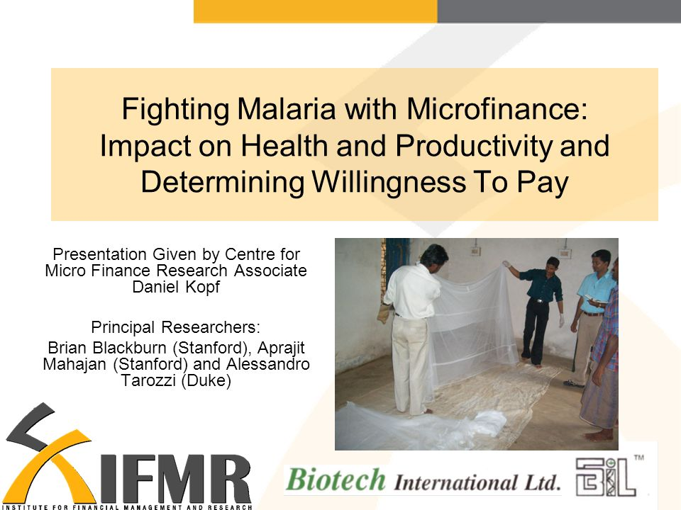 research proposal on impacts of microfinance in Although microfinance has been examined under various socio-economic conditions, , there is no consensus on the impact it has had on poverty reduction it remains difficult to establish clear, robust and incontestable evidence of microfinance's impact on poverty and well-being: reported impact.