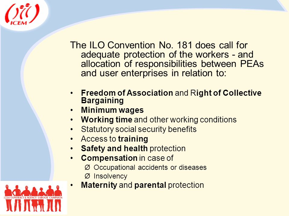 The ILO Convention No.