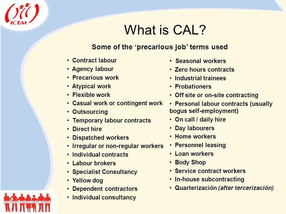 What is CAL.
