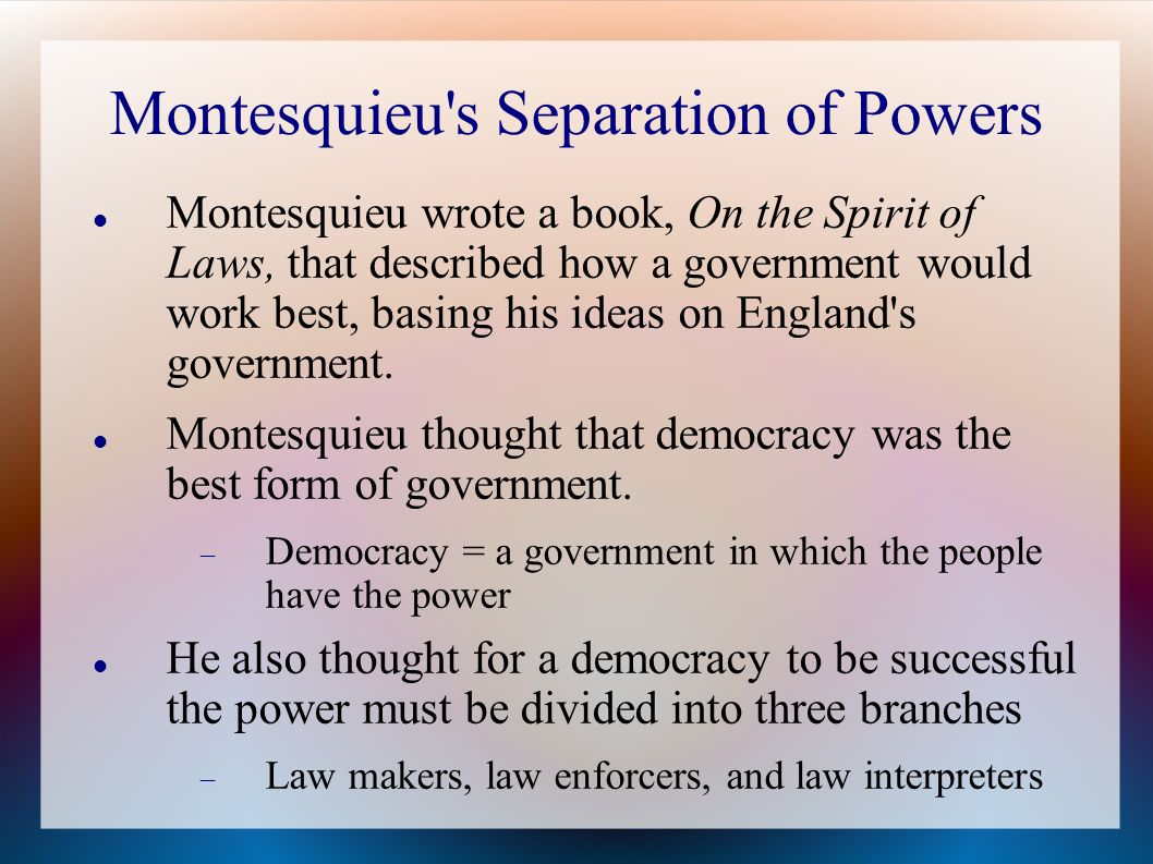 separation of powers essay This paper deals with the importance of separation of powers in the united states it also highlights the check and balances of every arm of the government namely the legislative, judicial and executive.