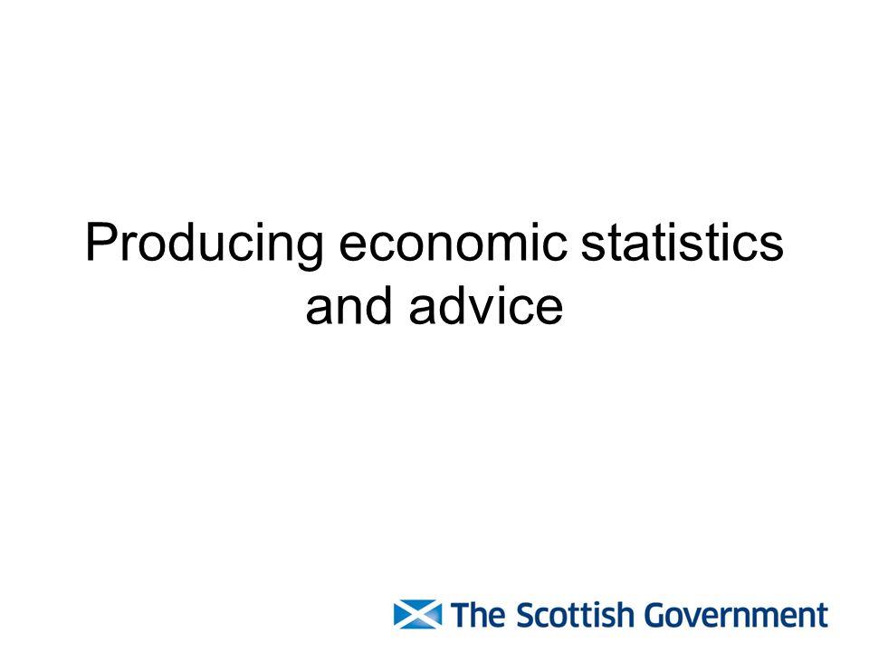 3 Producing economic statistics ...