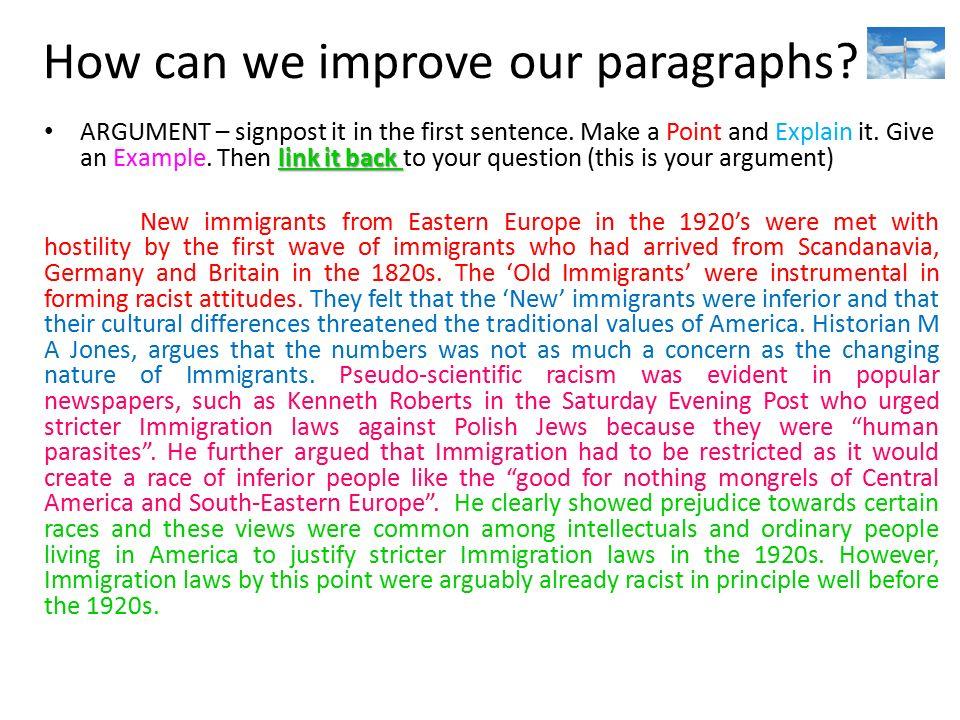 polish immigration essay