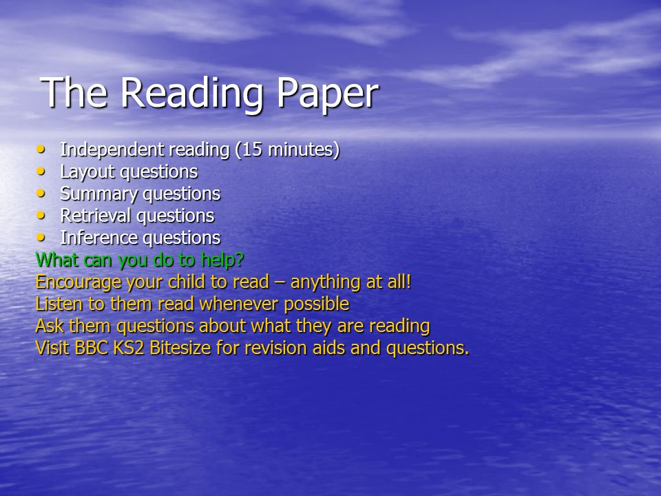 independent reading essay questions Five minute reading in response to their own independent reading along with a few of their responses to a question i posted about our.