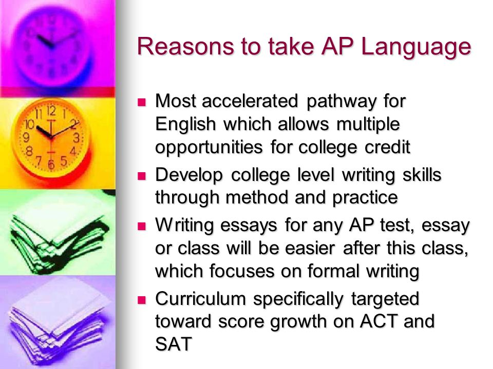 The Truth About Ap Language Reasons To Take Ap Language Most   Reasons To Take Ap Language Most Accelerated Pathway For English