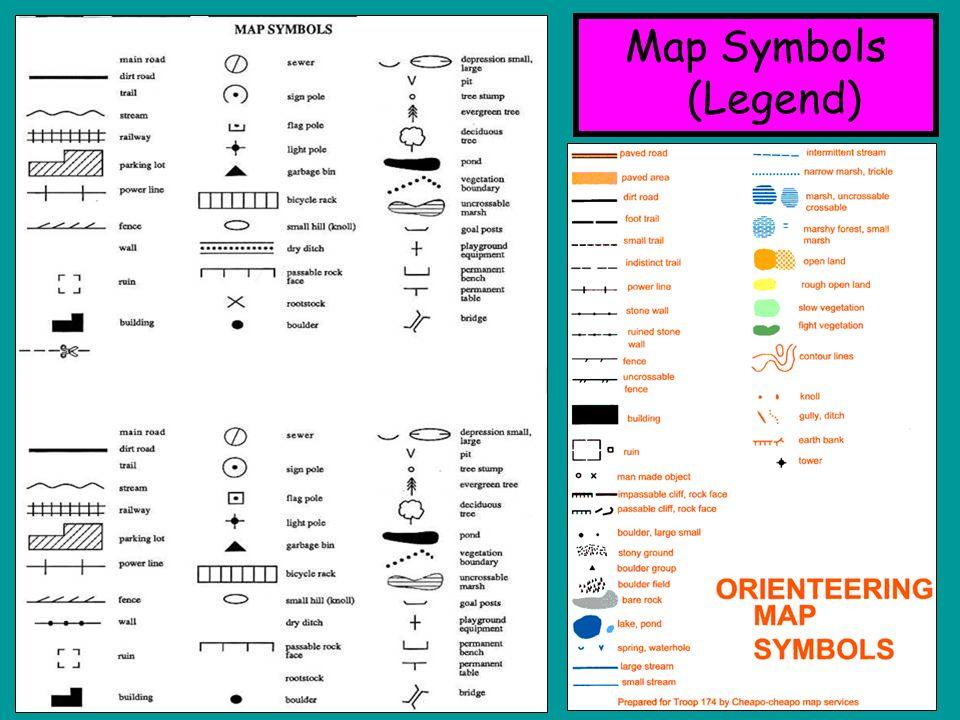 Basic Map Symbols Data Set
