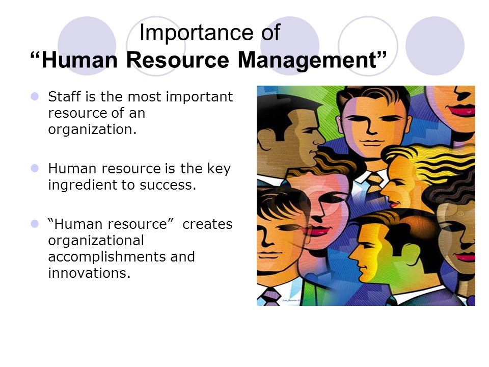 importance of human resource management in the philippine setting Performance management and compensation as resource management practices philippines human resource management has evolved to become one of.