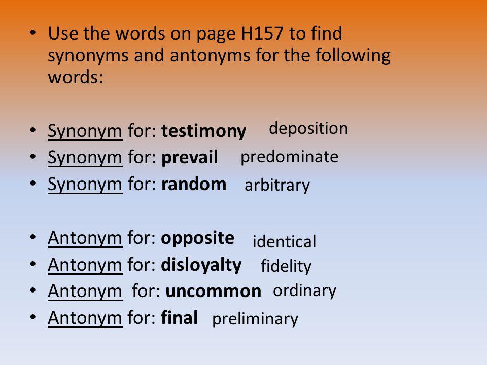 dissertation synonyms