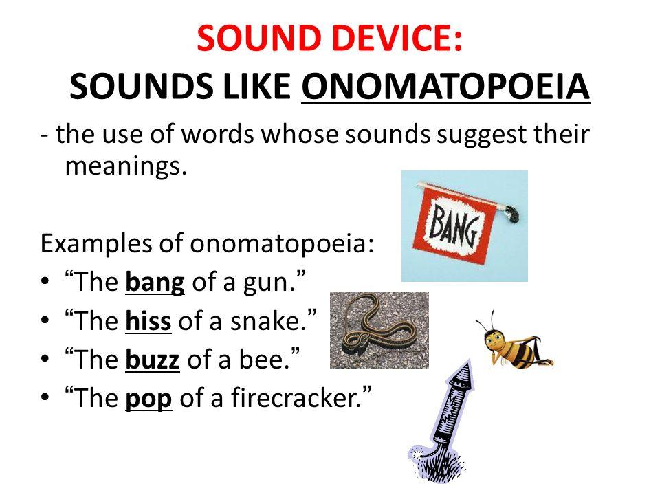 Onomatopoeia Examples Sentences 71283 | RIMEDIA