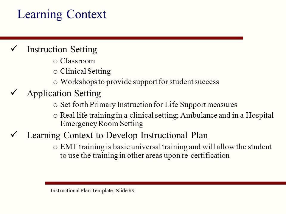 Aet515 instructional plan template linda sauerbrun instructional 9 instruction yelopaper Images