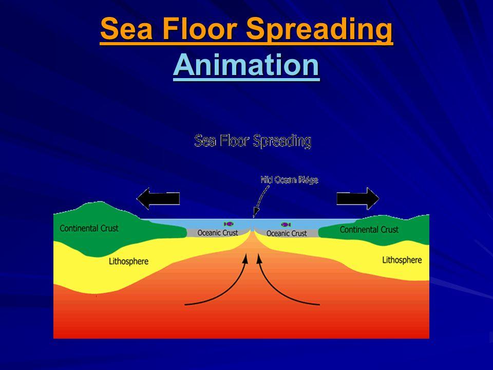 9 Sea Floor Spreading Animation Animation