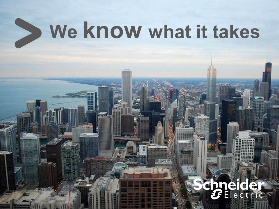 Schneider Electric 6 Smart Cities We know what it takes