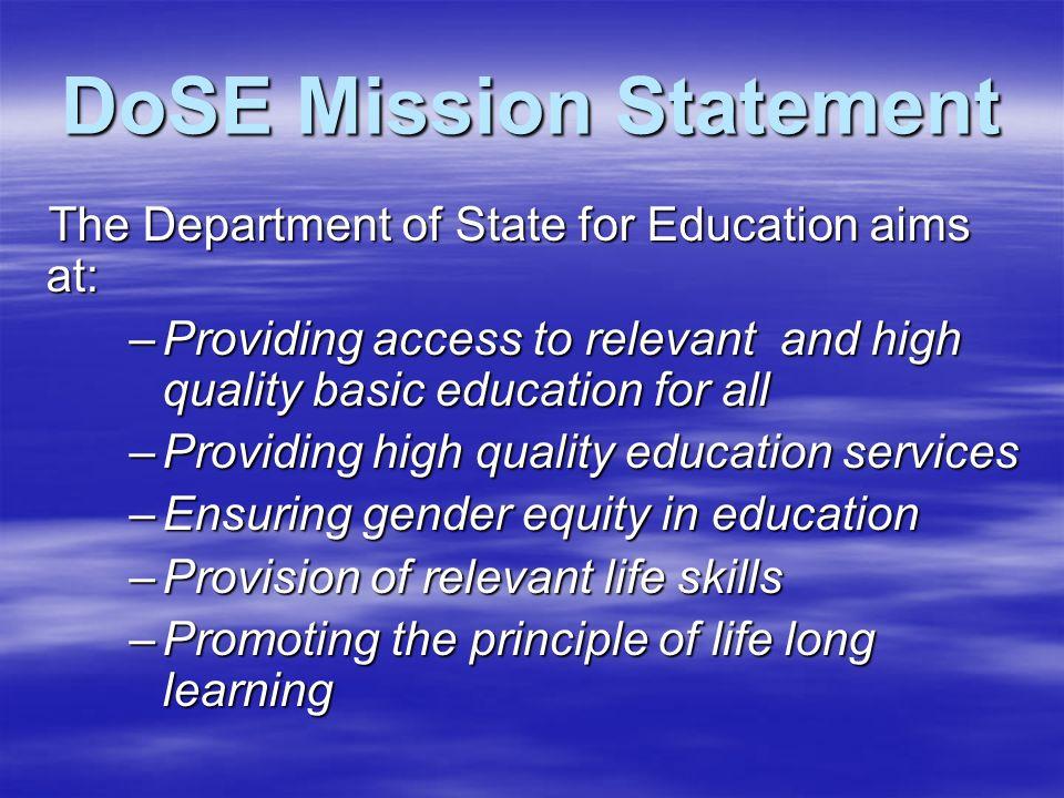 education sector strategic plan