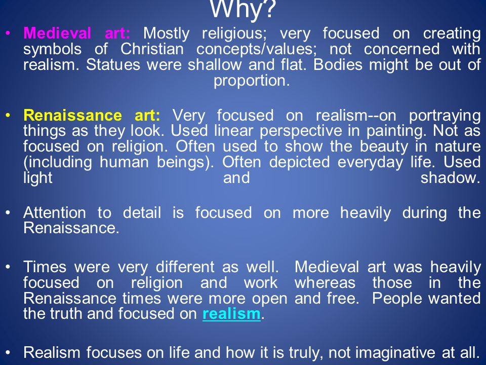 Religious   Philosophical Influences on High Renaissance Art CET Academic Programs