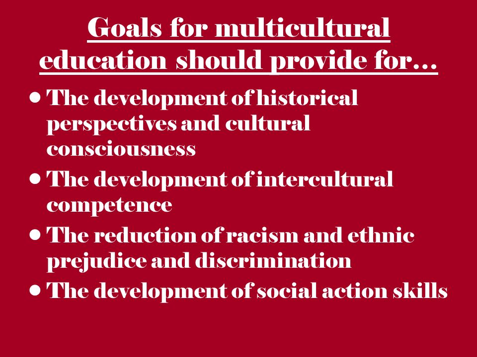 What is an inclusiveness of perspectives in content as it relate to multicultral in social studiess instructio?