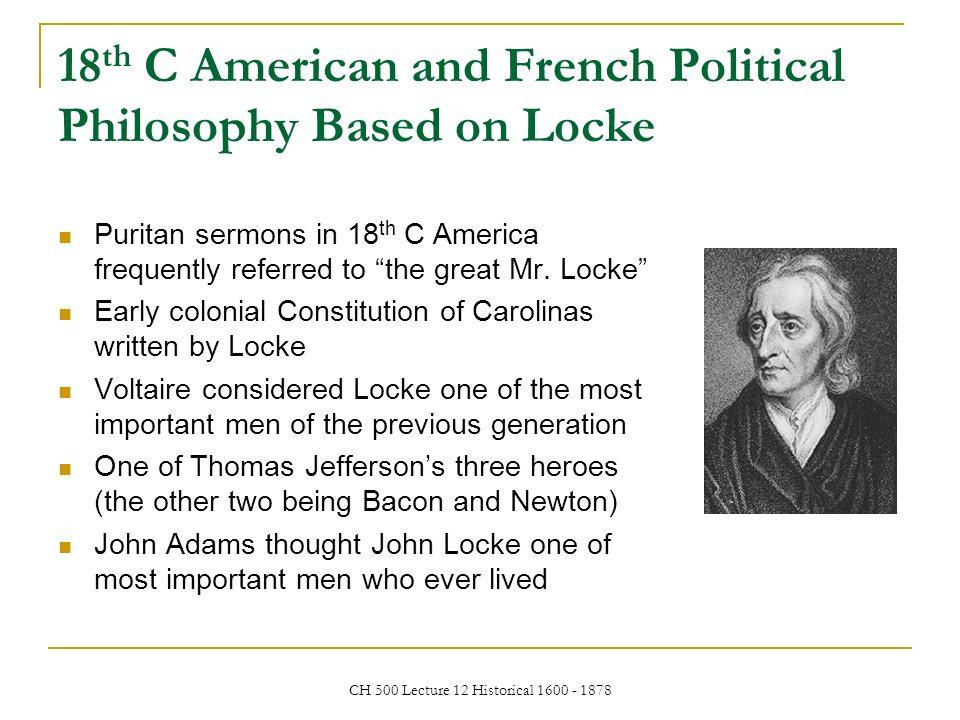 john locke and the american political