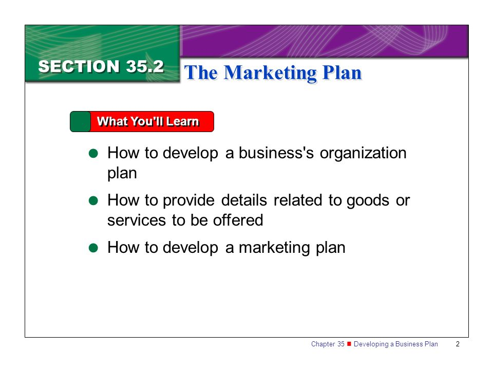 How to make a business plan presentation