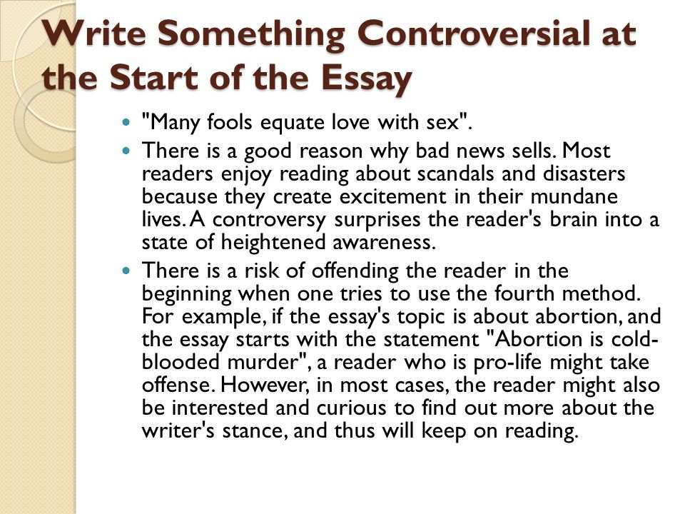 interesting ways to start college essays Your essay can give admission officers a sense of who you are, as well as showcasing your writing skills try these tips to craft your college application essay.
