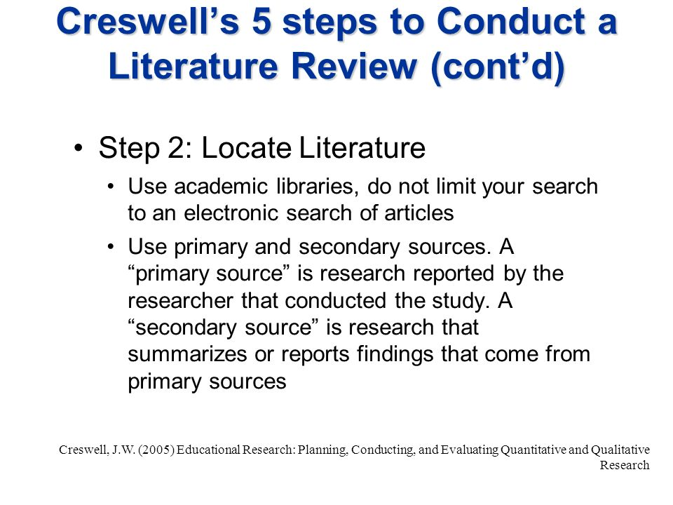 How to carry out literature review    English Writing Master