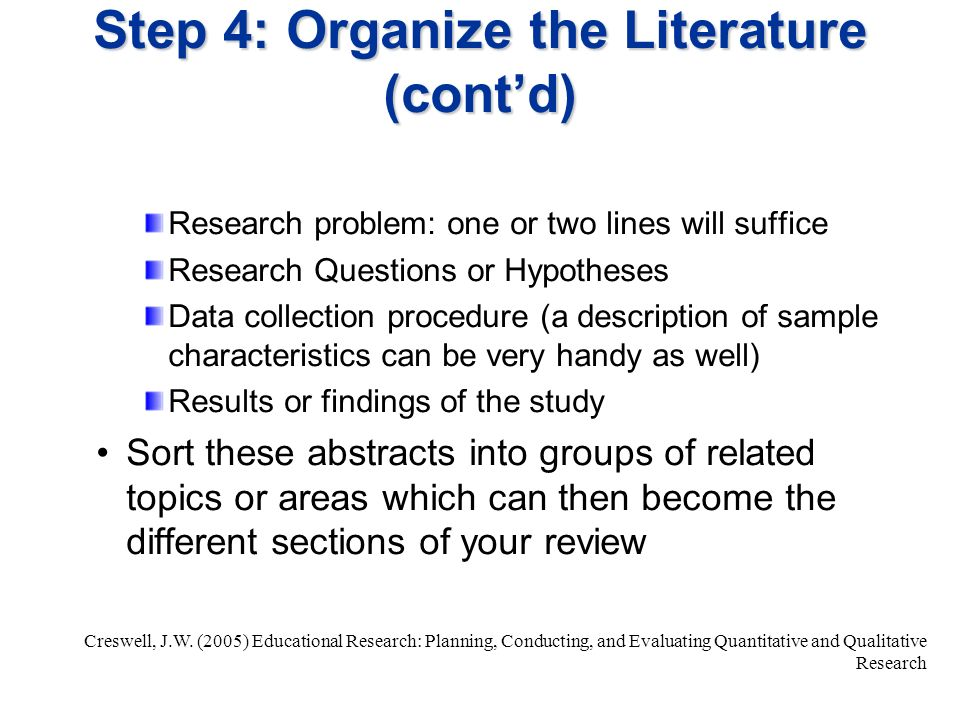 How To Write Review Of Literature In Dissertation