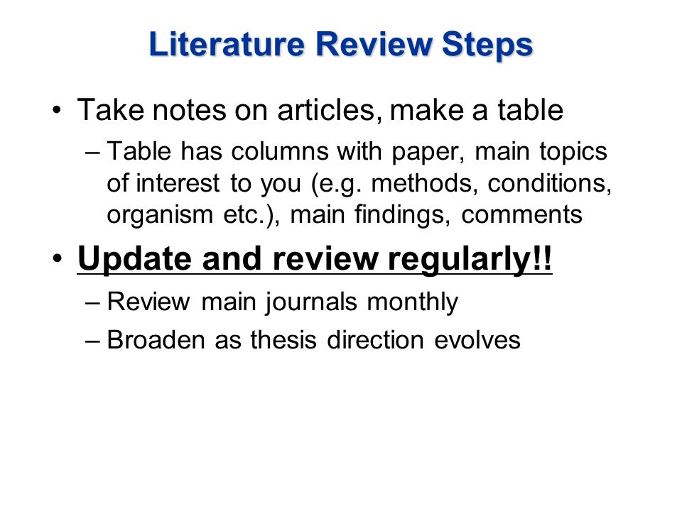 what is a literature based research paper