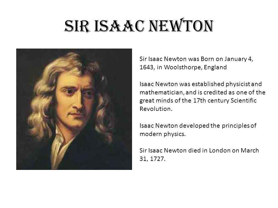 scientific revolution england