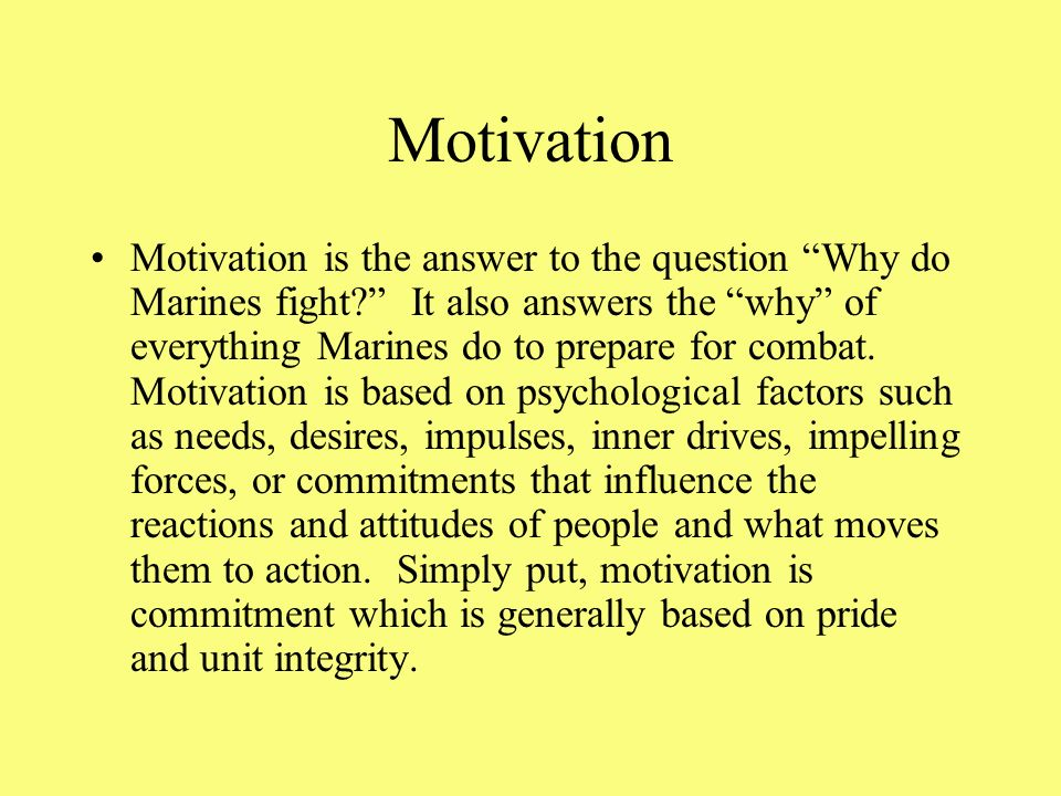 Morale Morale is the individual's state of mind. It depends upon his or her attitude toward everything that effects him or her. High morale gives the