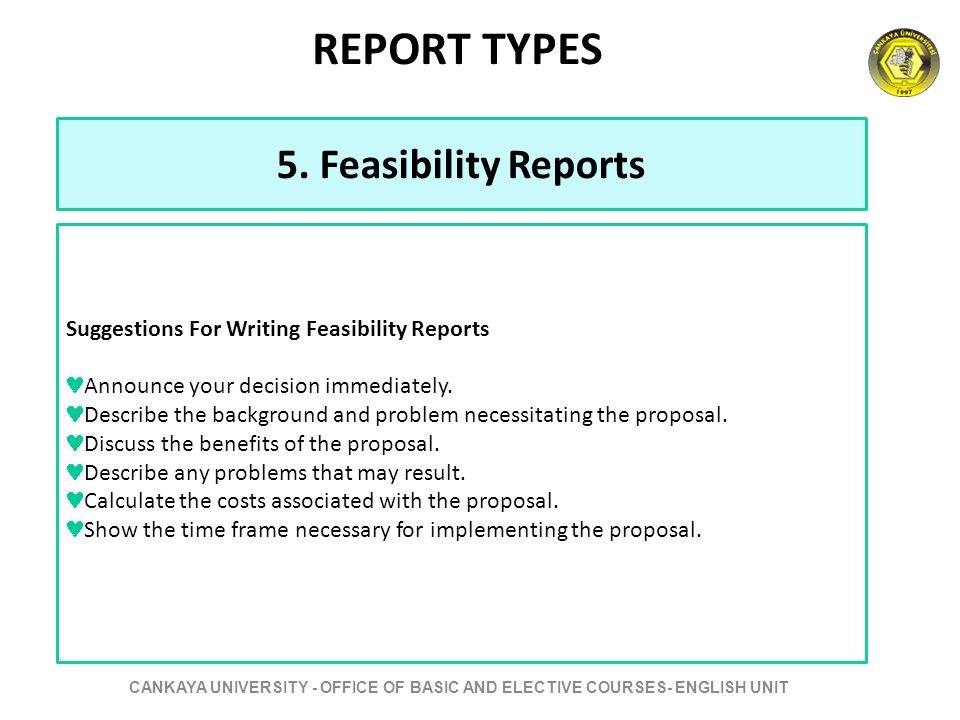 write written report When creating a business report for an executive, use standard business formatting and keep the writing objective.