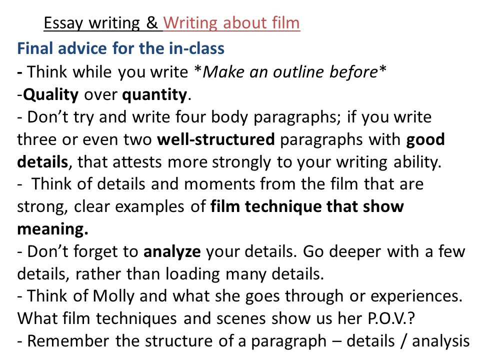 good essay writing techniques Here's how you can use popular creative writing techniques to make your essays more interesting and improve your marks.
