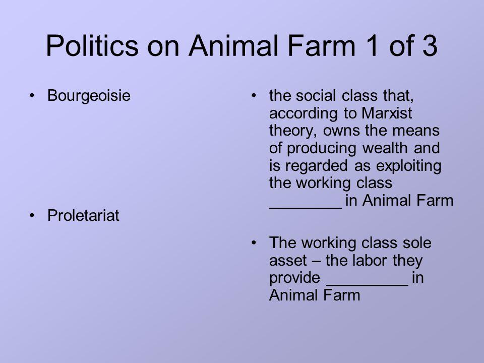 political allegory in animal farm